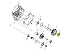 Kugellager 6203 P6 Getriebeausgangswelle