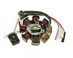 Lichtmaschine 49ccm Euro2 4-Takt GY6 139qmb