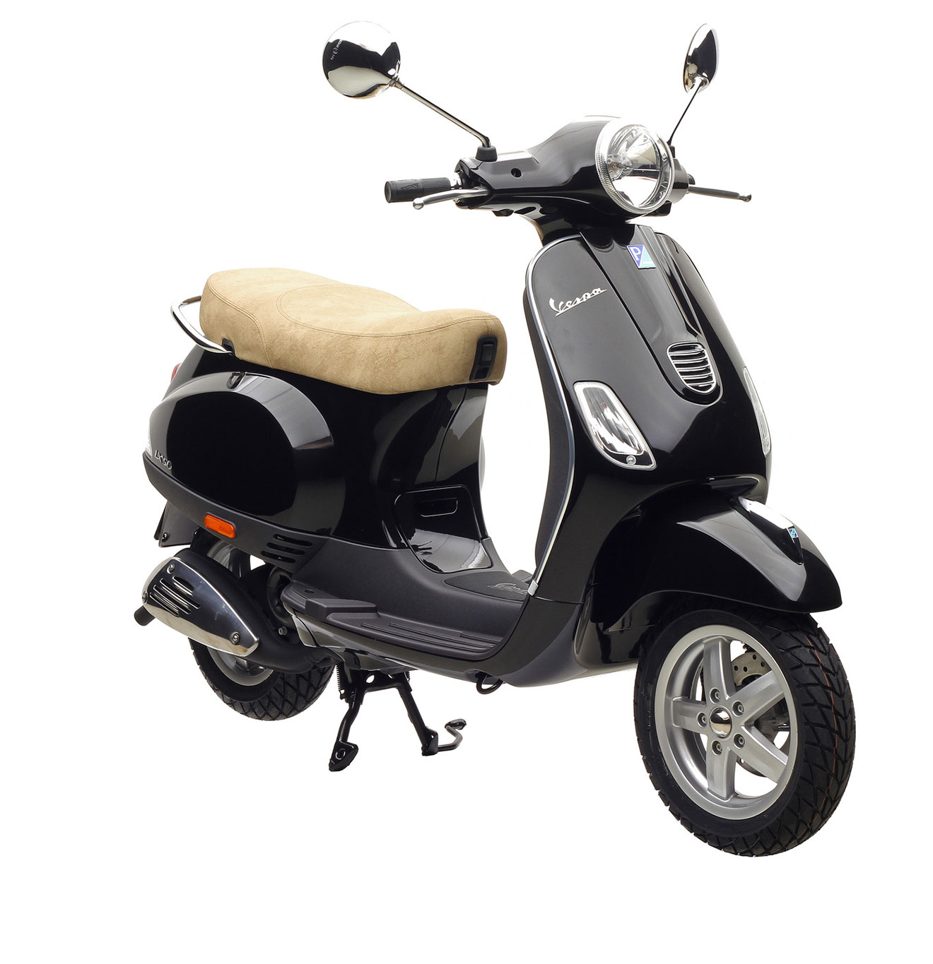 piaggio vespa lx 50 2 takt 45km h schwarz 49ccm ebay. Black Bedroom Furniture Sets. Home Design Ideas