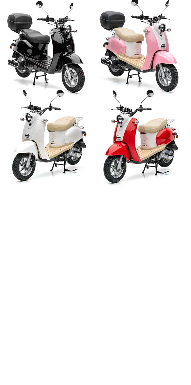 Nova Motors Retro Star Motorroller in vielen Farben online bestellen!