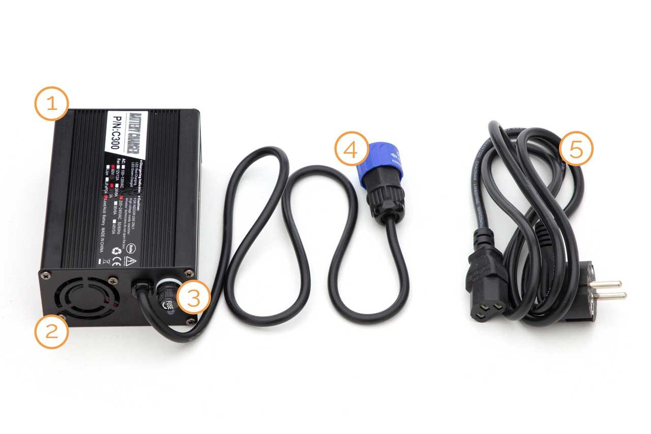 Ladegerät für Elektrofahrzeuge von Nova Motors