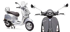 Zu den Vespa Motorrollern