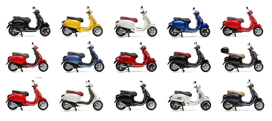 Günstige Vespa Motorroller