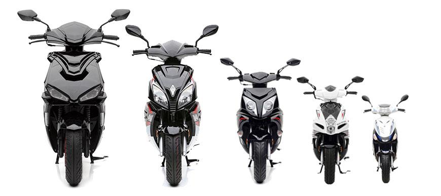 Sport Motorroller bei Nova Motors