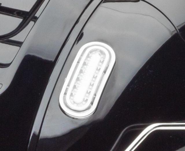Chromhalter Blinker hinten rechts Retro69 125i