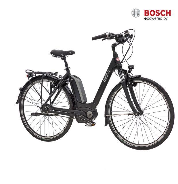 Birota 1000 NX8 Damen Pedelec mattschwarz mit Bosch Mittelmotor