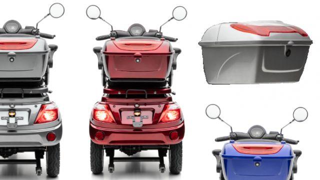 Gepäckbox / Koffer / Topcase lackiert für Bendi Standard und Bendi Premium