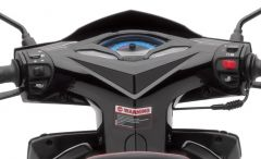 Lenkerverkleidung schwarz SP125i