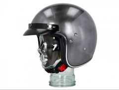 Helm Shiro SH-235 Mono Scratched Chrome Gr. M
