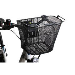 Fahrradkorb für Montage am Lenker inklusive Halterung