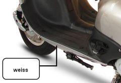 Seitenverkleidung unten links Cruiser weiß (Version ab 2012) 50 und 125 YY--QT