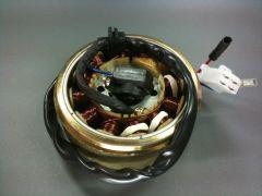 Lichtmaschine mit Polrad