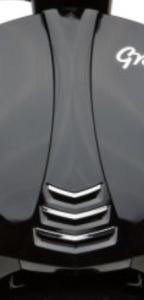 Mittlerer Einsatz Frontverkleidung schwarz Grace | ZN50QT-56