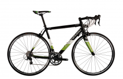 Corratec Dolomiti 105 in mattschwarz oder mattneongelb, 28 Zoll Rennrad, Shimano 105 22-Gang