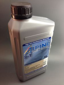 Alpine 2-Takt High-Tech Motorenöl 1Liter