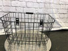 Gepäckkorb Bendi ohne Deckel ( Befestigung am Sitz)