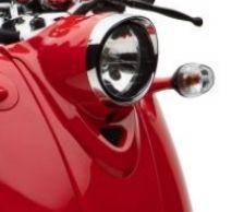Lichtverkleidung rot Retro Star