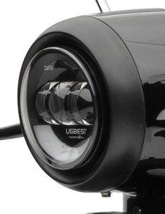 Abdeckung schwarz LED Scheinwerfer eGrace Li