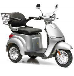 Komfortables Elektromobil mit Luftbereifung und 3 Rädern - günstige kaufen und fahrbereit geliefert