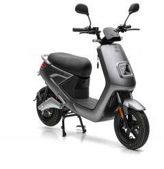 Nova Motors S4 li 50 elektro matt grau - Elektroroller mit Bosch Motor und herausnehmbarem Lithium-Ionen Doppelakku-System