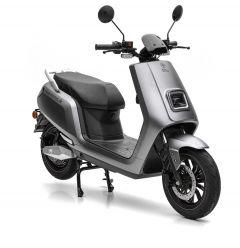Nova Motors S5 li 50 elektro matt grau - Elektroroller mit Bosch Motor und herausnehmbarem Lithium-Ionen Doppelakku-System