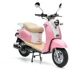 Nova Motors Retro Star 50 rosa-weiß - Modell 2020