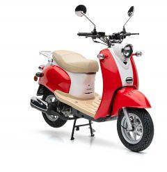 Nova Motors Retro Star 50 rot-weiß - Modell 2020