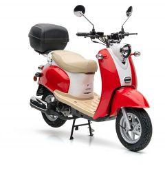 Nova Motors Retro Star 50 Touring rot-weiß - Modell 2020