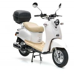Nova Motors Retro Star 50 Touring weiß - Modell 2020