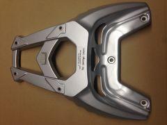 Piaggio TPH Topcase Halterung Aluminium silber
