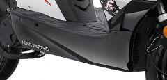 Unterbodenverkleidung rechts schwarz lackiert LJ50QT-M